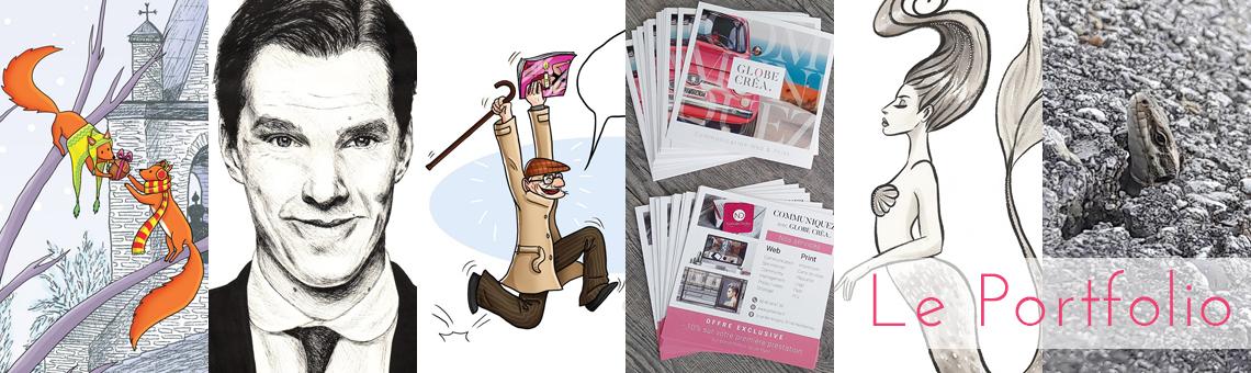 portfolio marie gib illustration graphisme dessin portrait bande dessinée bd