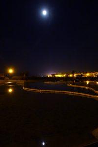 port leucate leucate miroir d'eau photo photographie photo de nuit