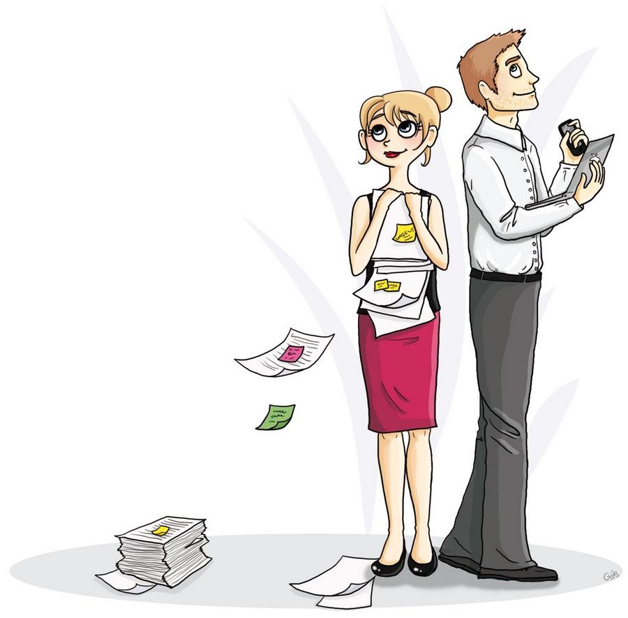 bande dessinée personnage travail workers entreprise employés salariés