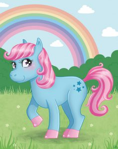 my little pony mon petit poney cute rainbow arc en ciel