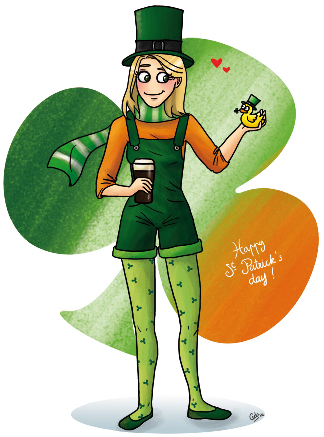 bande dessinée personnage gib saint patrick irlande st patick's day ireland