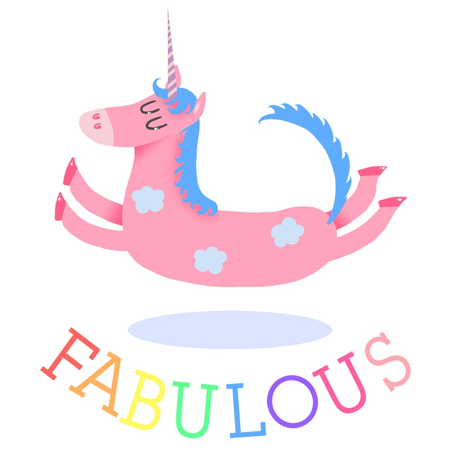 licorne unicorn fabulous cute mignon fun illustration