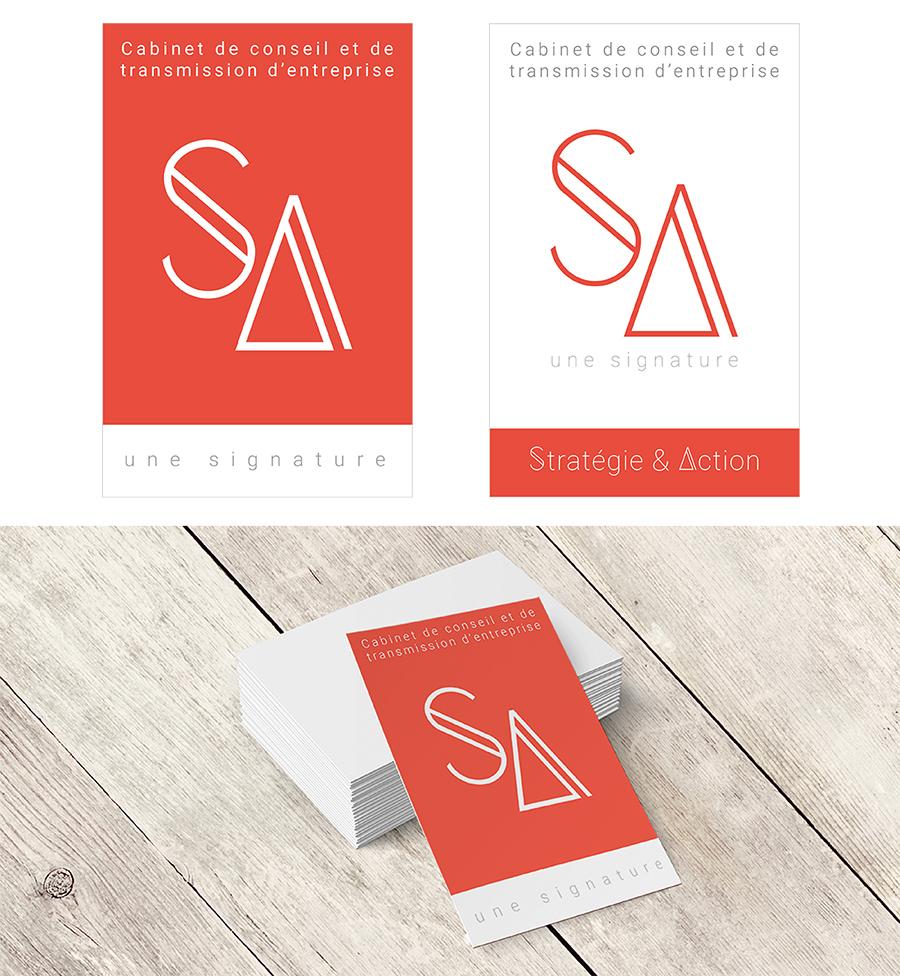 conception graphique création logo design graphisme logo cabinet conseil entreprise