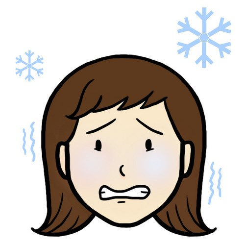 Illustration aide au langage document orthophonie logopédie j'ai froid froid