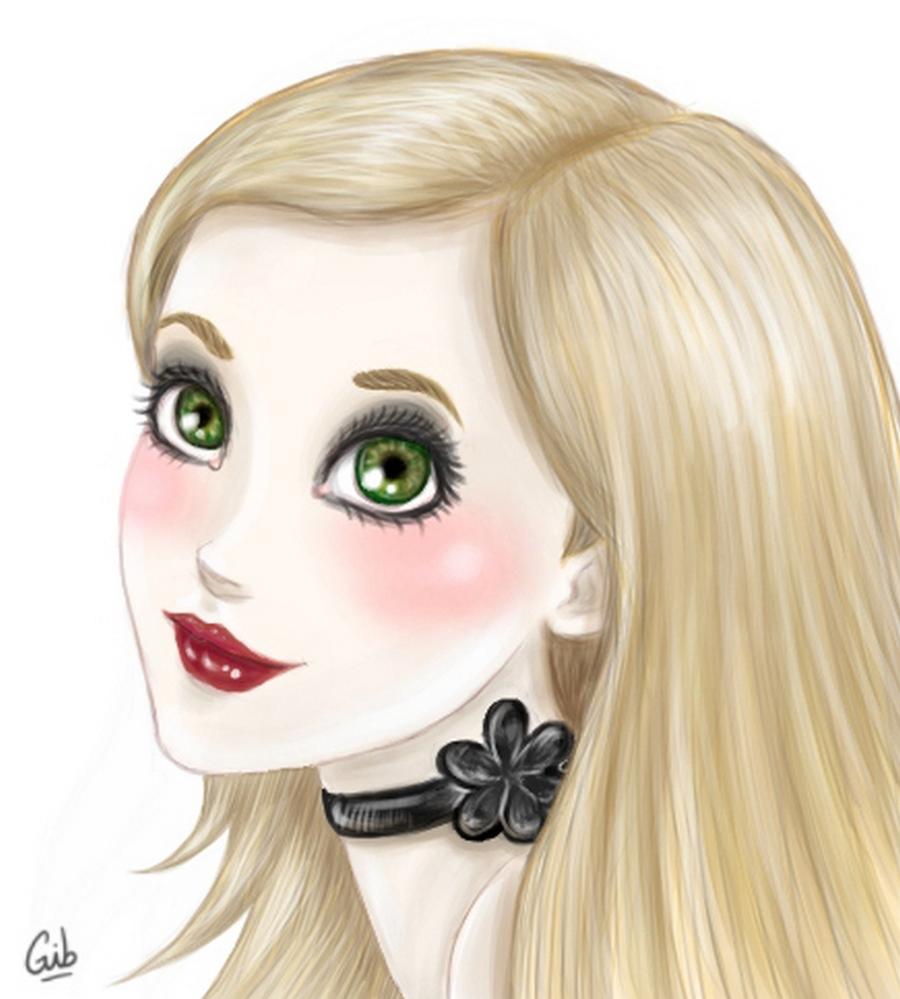 gib avatar portrait mignon marie
