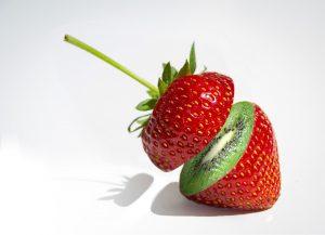 photo photographie montage rigolo fraise kiwi friwi