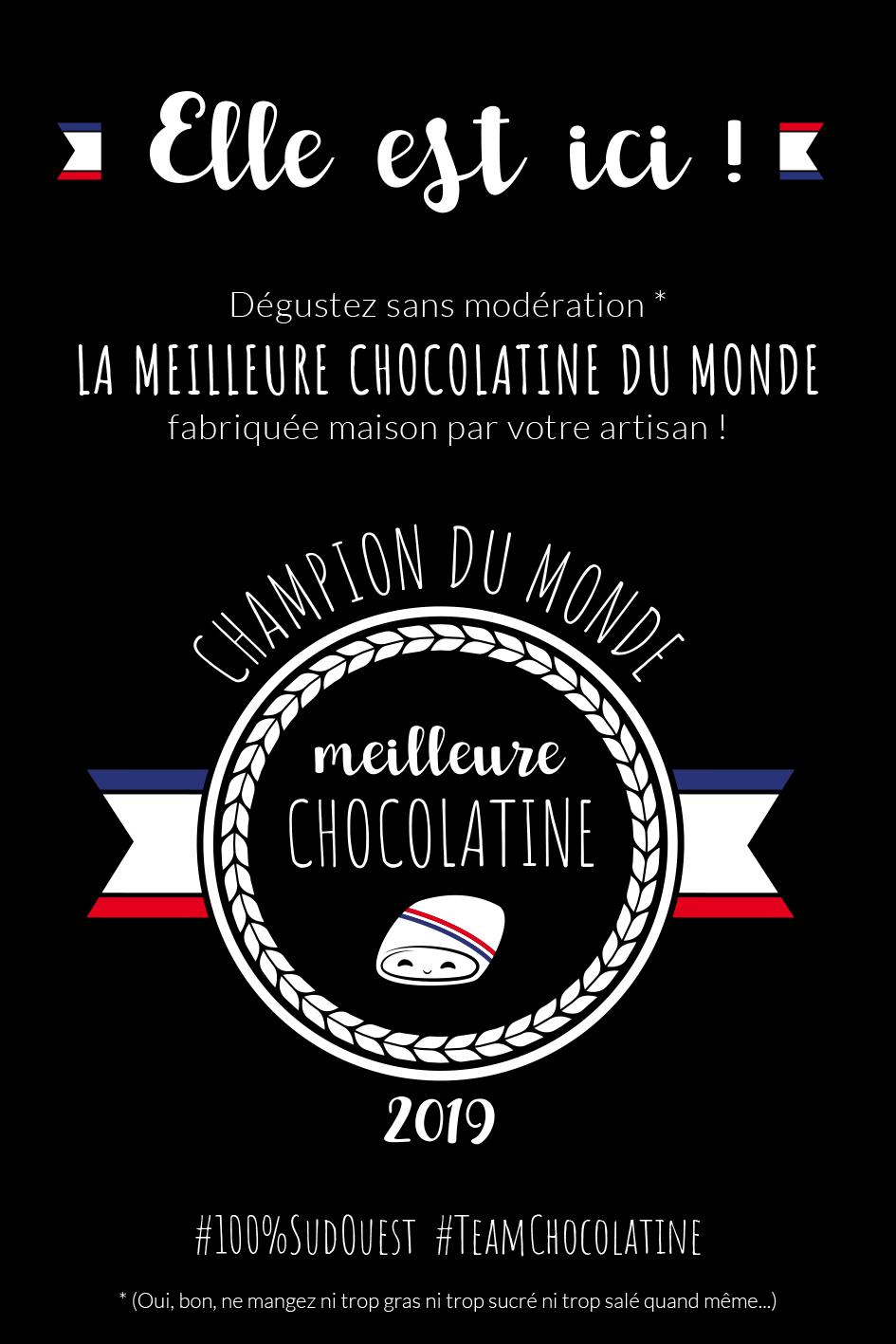 prix mondial chocolatine illustration