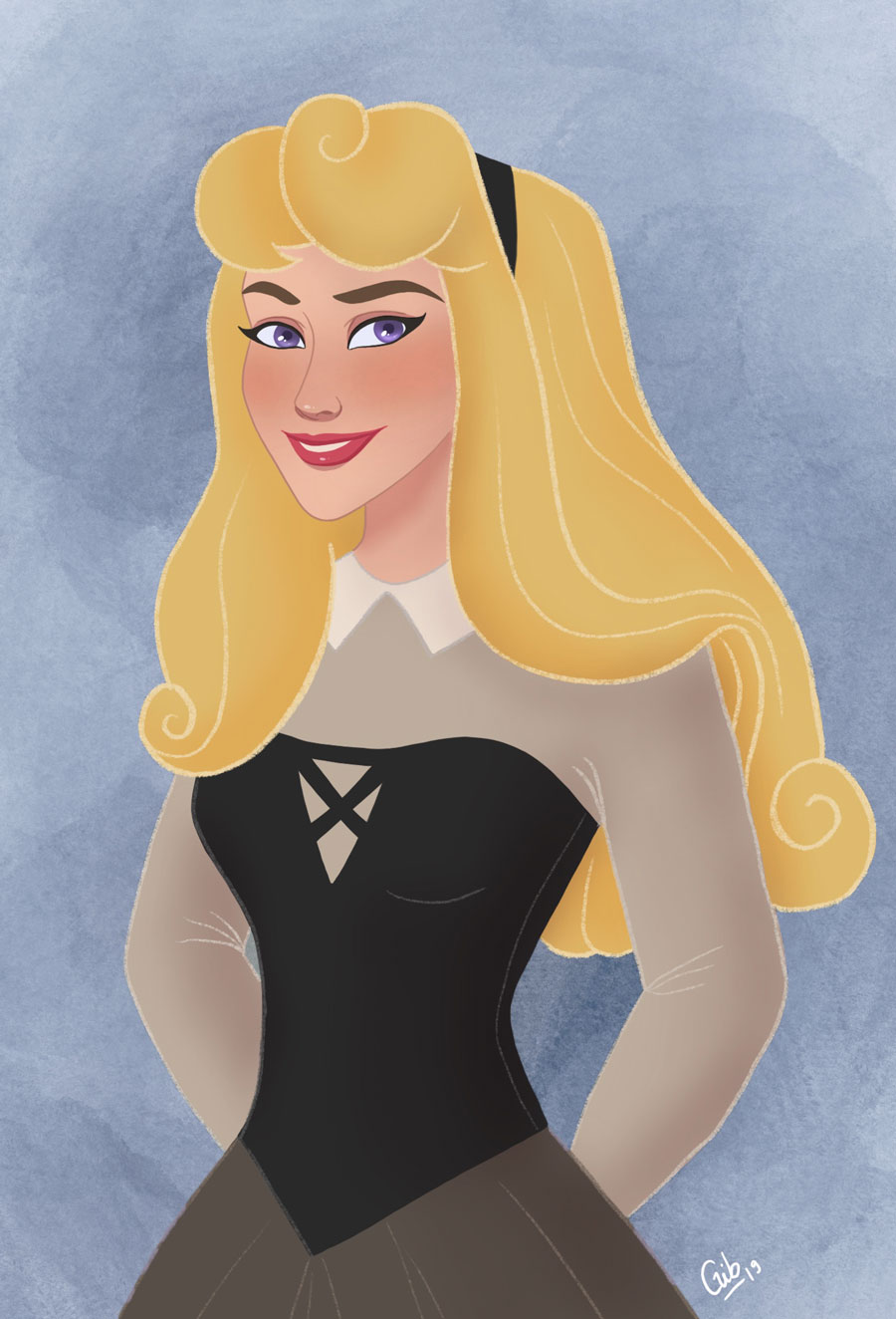 la belle au bois dormant aurore briar rose disney fan art