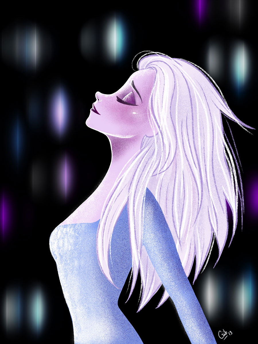 elsa frozen 2 la reine des neiges fith element fan art