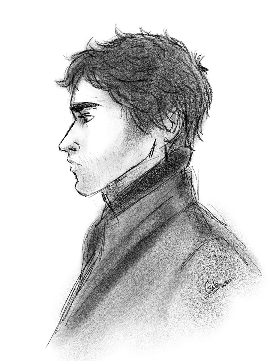 illustration croquis gib mister darcy croquis illustration toulouse