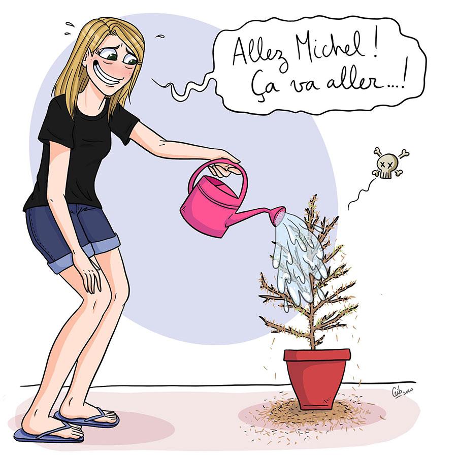 Marie Roumégoux Gib illustratrice toulouse Sapin BD humoristique