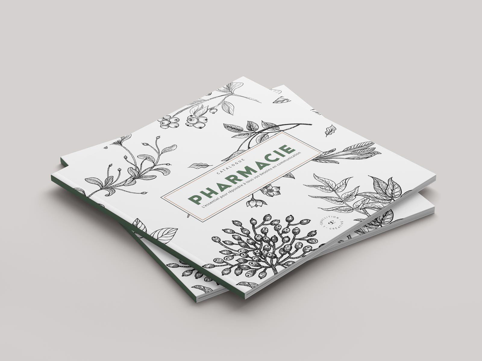 Design graphique catalogue pharmacie