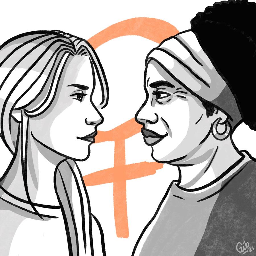 Illustration journée nationale des droits des femmes illustratrice toulouse